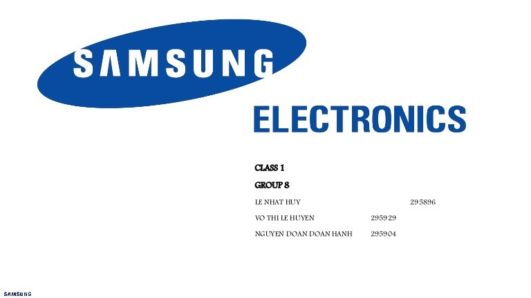 samsung electronics powerpoint - best electronics 2017, Powerpoint templates