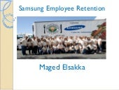 Samsung Employee Retention