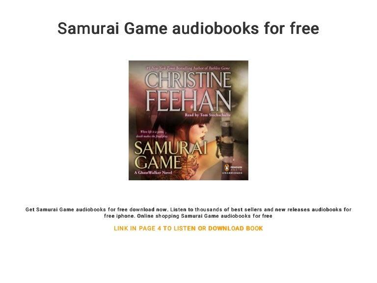 Samurai Game Christine Feehan Pdf