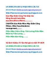 Sửa Máy Bấm Trạm GS-6000C Tận Nơi Giá Rẻ Nhất Đồng Nai