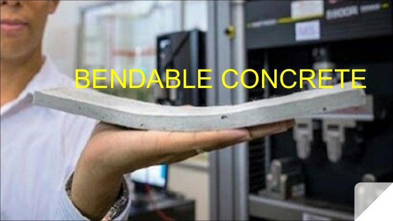 Fly Ash Concrete >> Bendable Concrete