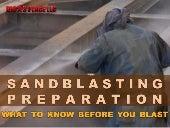 Sandblaster preparation what to know before you blast