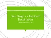 San Diego - a Top Golf Destination