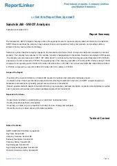 Sandvik AB - SWOT Analysis