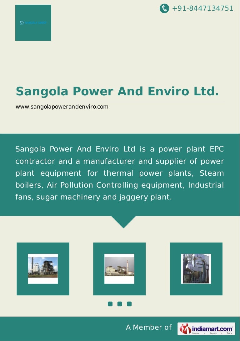 Sangola Power And Enviro Ltd., Coal Fired Boilers, Pune