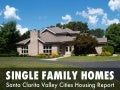 Santa Clarita housing market reports Single Family Homes