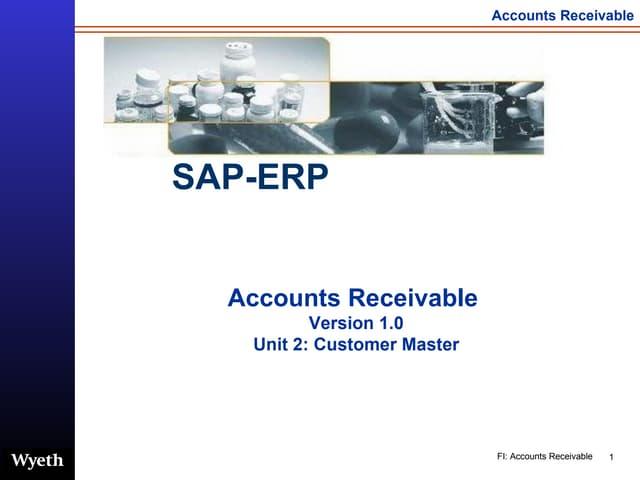 SAP Accounts Reveivable Customer Master | http://sapdocs.info