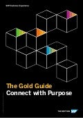 SAP Customer Experience Golden Guide to Connect with Purpose