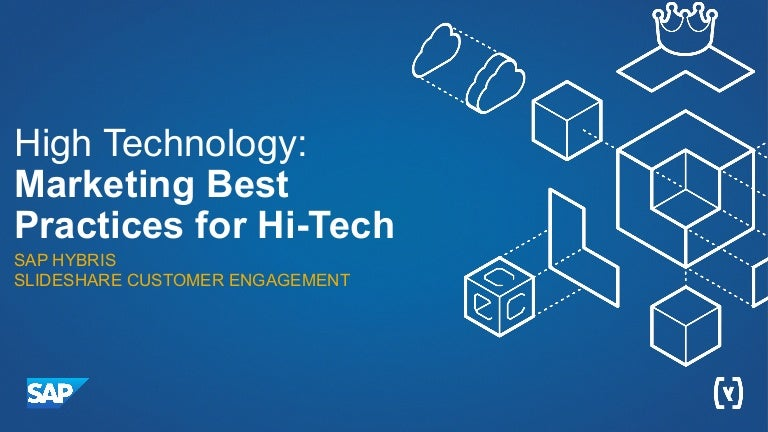 Marketing Best Practices for High Tech