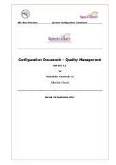SAP QM Configuration Step by Step PDF