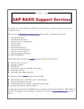 Top 10 SAP BASIS Consulting Services Your Business Needed | Read File