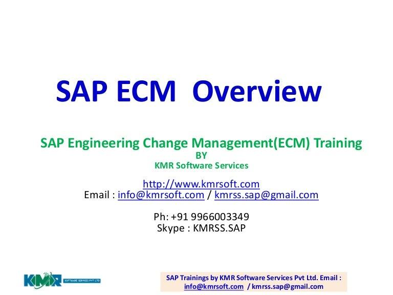 Sap engineering change managementecm sciox Images