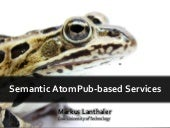 SAPS - Semantic AtomPub-based Services