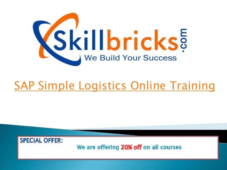 whatever Happened SAP Simple Logistics? Online Training at SkillBricks