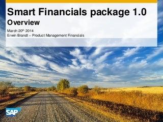SAP Smart Financials 1.0