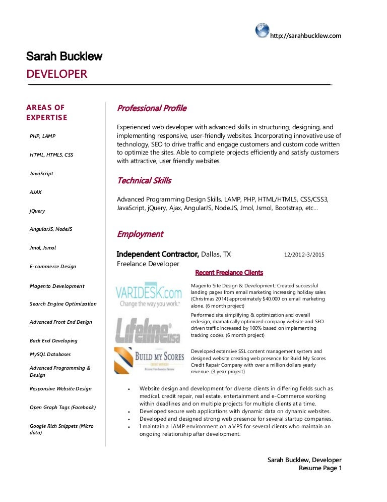 Cover Letter For Php Developer Odesk Cover Letter Templates