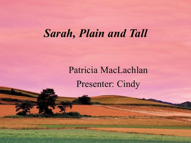 Sarah, Plain And Tall (P.1-36)