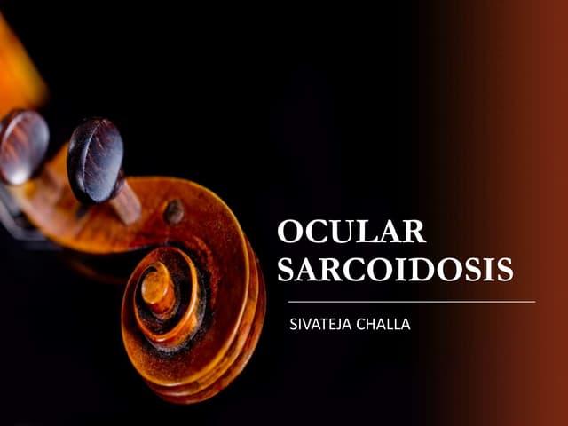 ocular Sarcoidosis
