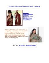 Sarees to India,Buy Indian Sarees Online,Designer Sarees,Silk Sarees India – Talash.com