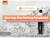 Startup Marketing Playbook (Q2.2015)