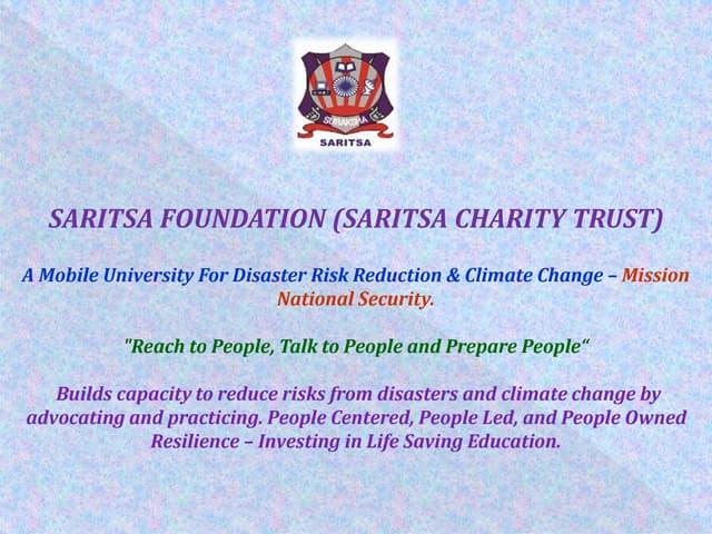 Saritsa prepares visually impaired girls of kamla mehta school for blind girls on 09 march 2015