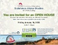 Substance Abuse Studies at UNMCE Gallup Open House