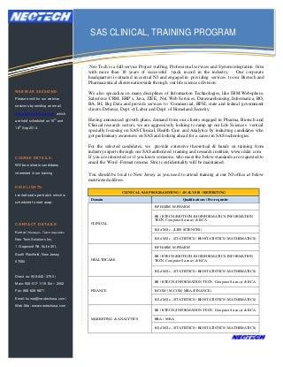 sas clinical software free