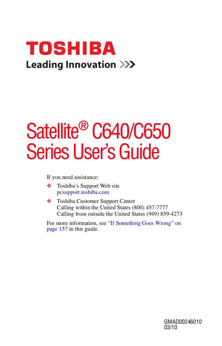 toshiba user manual guide pdf for satellite c640 c650 rh slideshare net toshiba user guide pdf toshiba user guide satellite