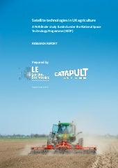 Satellite technologies in UK agriculture 2015