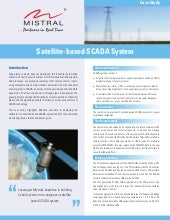 Satellite based SCADA systems