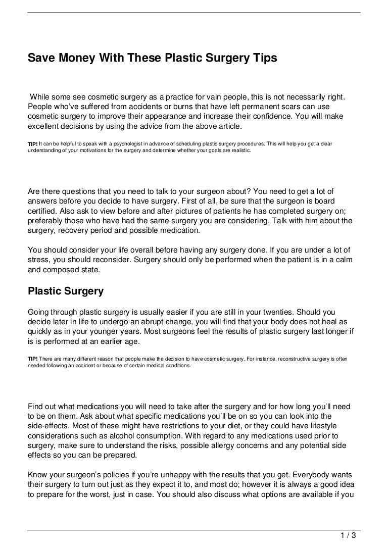 Save money with these plastic surgery tips 121106200050 phpapp02 thumbnail 4gcb1352232063 1betcityfo Choice Image