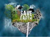 Save earth important