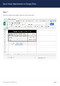 Export Gmail Attachments to Google Drive