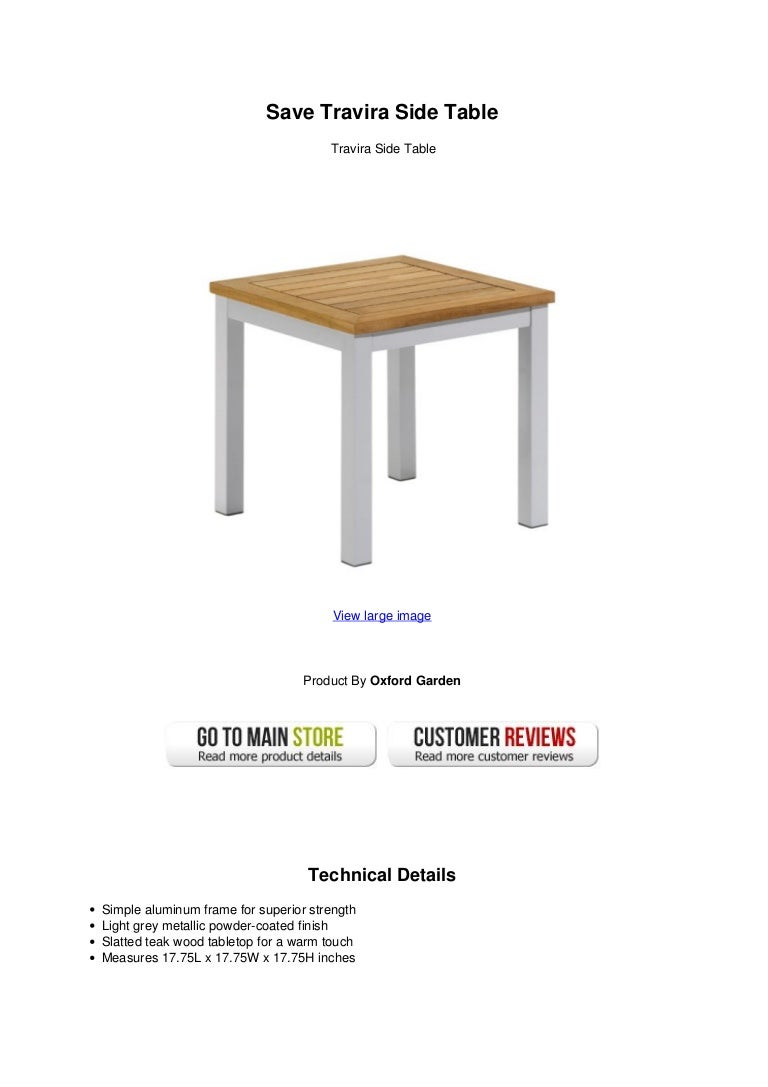 Save Travira Side Table