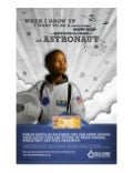 Savings Bond Astronaut Dream Tax Time Poster
