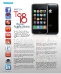 Top 10 Mobile Applications - Savoy Magazine by Edward Cates