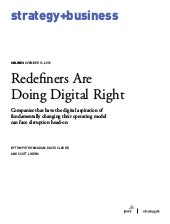 Redefiners Are  Doing Digital Right