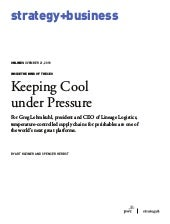 Keeping Cool under Pressure
