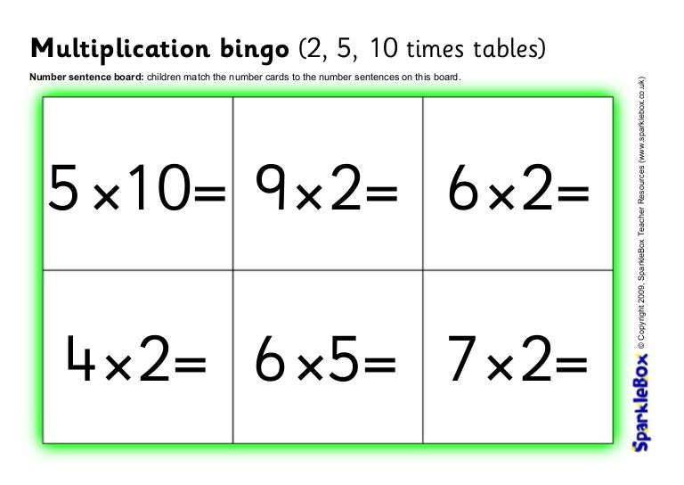 It is a photo of Printable Multiplication Bingo with regard to high school