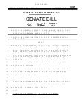 PA Senate Bill (SB) 562 - Increases Legislative Oversight of Environmental Regulatory Review