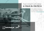 PWC 2017 - UK startup review - 2016 in Fintech