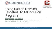 Using Data to Develop Targeted Digital Inclusion Programs