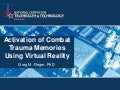 Activation of Combat Trauma Memories Using Virtual Reality