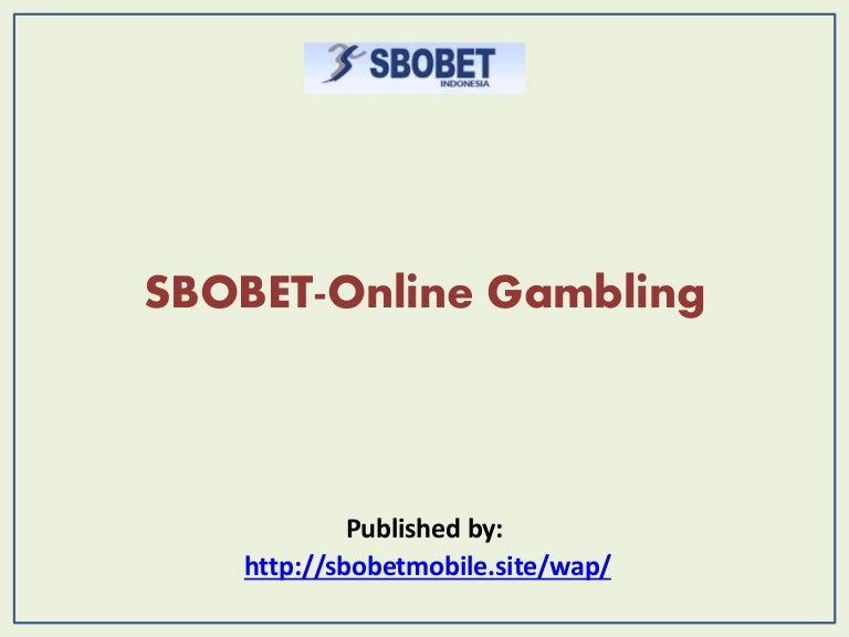 Sbobet Online Gambling