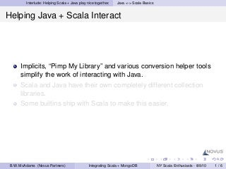 Briefly: Scala Implicits, Pimp My Library and Java Interop