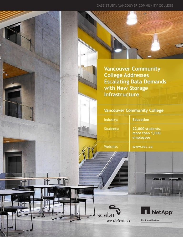 Vancouver Community College Scalar Customer Success Story