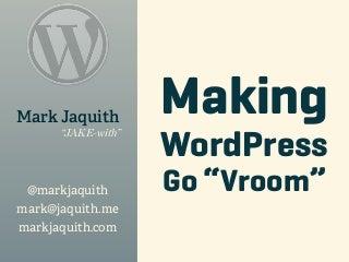 Scaling WordPress
