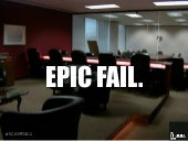 EPIC FAIL: The Insight Value Chain is Broken (Focus Group Expansion Pack)