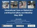 Bicyclist and Pedestrian Safety and Mobility in Europe