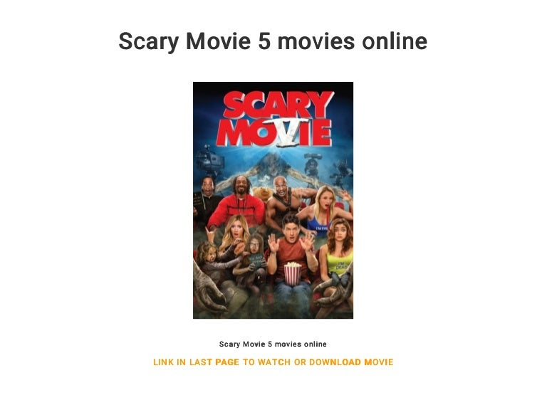 Scary Movie 5 Movies Online